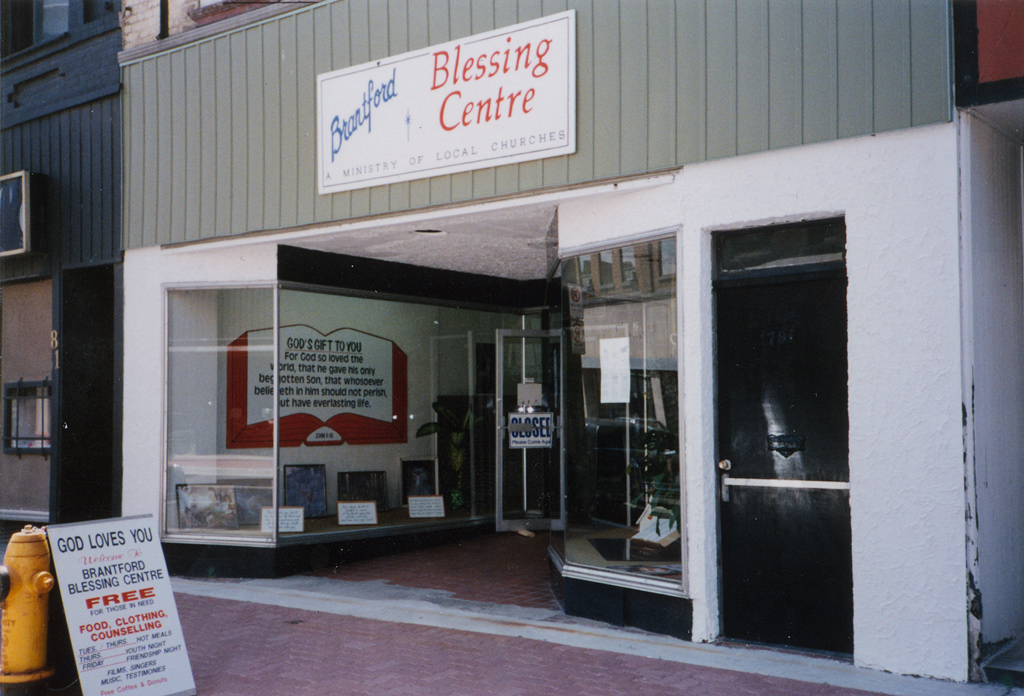 Brantford Blessing Centre - Hope begins with a hot meal
